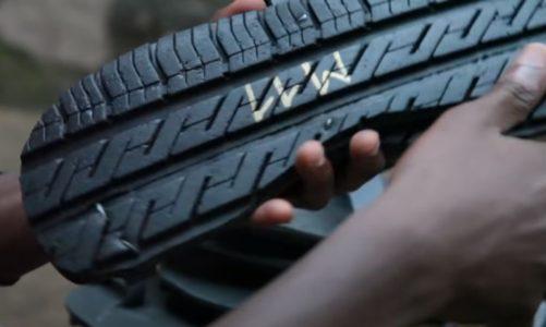 Jak využít staré pneumatiky? Třeba na výrobu bot